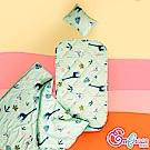 Embrace英柏絲 長頸鹿草原 Tencel天絲 吸濕排汗 兒童三件組 鋪棉床墊+涼
