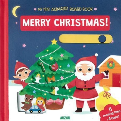 My First Animated Board Book:Merry Christmas