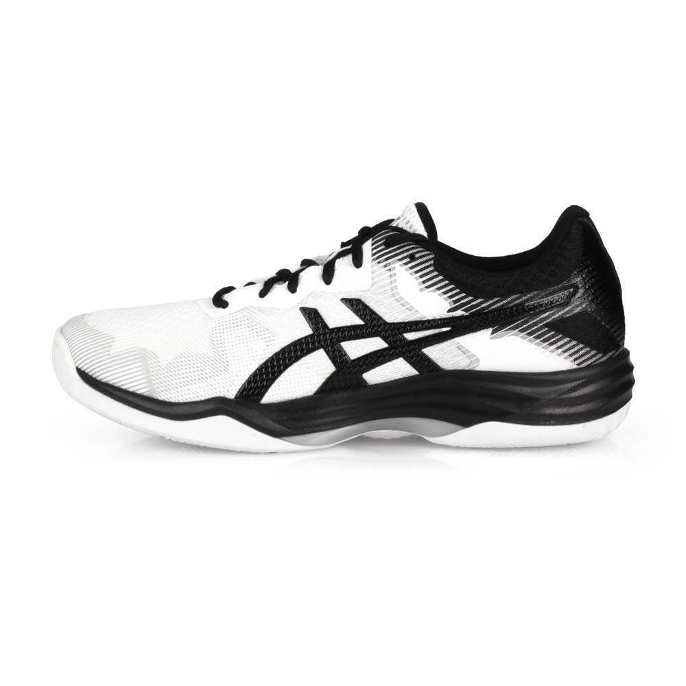 ASICS 男 排羽球鞋 GEL-TACTIC 白黑