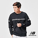 New Balance 長袖T恤_AMT91508BK_男性_黑色