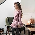 PIPPY 保暖假兩件式洋裝 粉