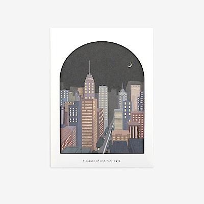 Dailylike 世界之窗卡片組-08城市夜景