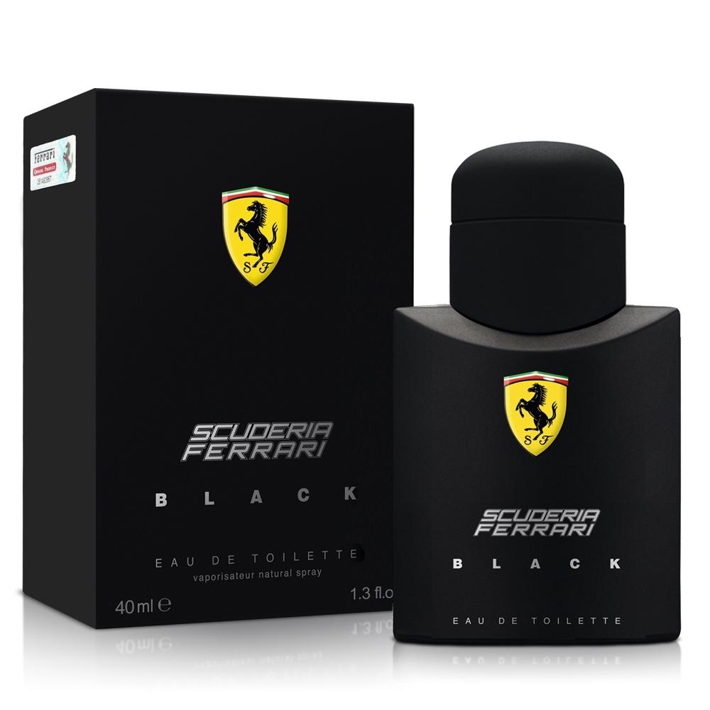 Ferrari法拉利 黑色法拉利男性淡香水40ml