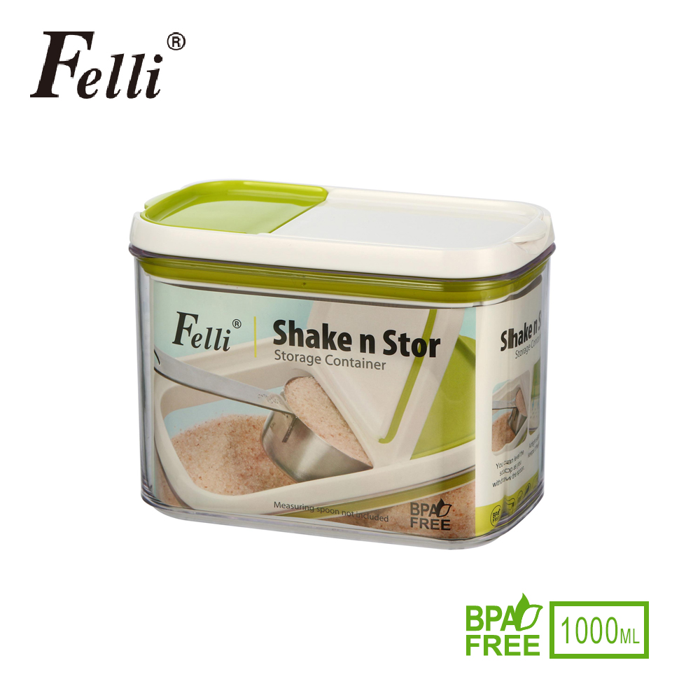 [Felli]雙口香料罐1L