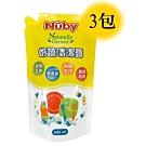 Nuby 奶蔬清潔露補充包 600ml/3入