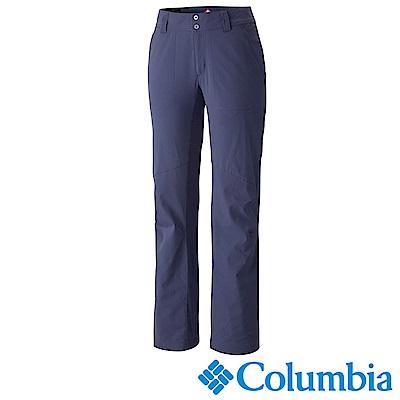 Columbia 哥倫比亞 女款-保暖防潑長褲-深藍 UAR89960NY