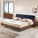 Boden-約瓦工業風6尺雙人加大床組(床頭箱+床底)(不含床墊)