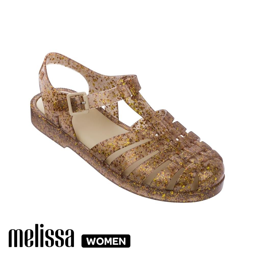 Melissa 閃耀果凍漁夫鞋 閃耀金