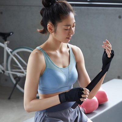 蕾黛絲-LadieSport律動 Level 3 釋壓背心 M-EEL 運動內衣 躍動藍