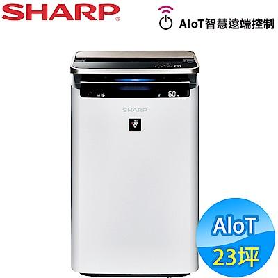 SHARP夏普 23坪 AIoT智慧空氣清淨機 KI-J101T-W