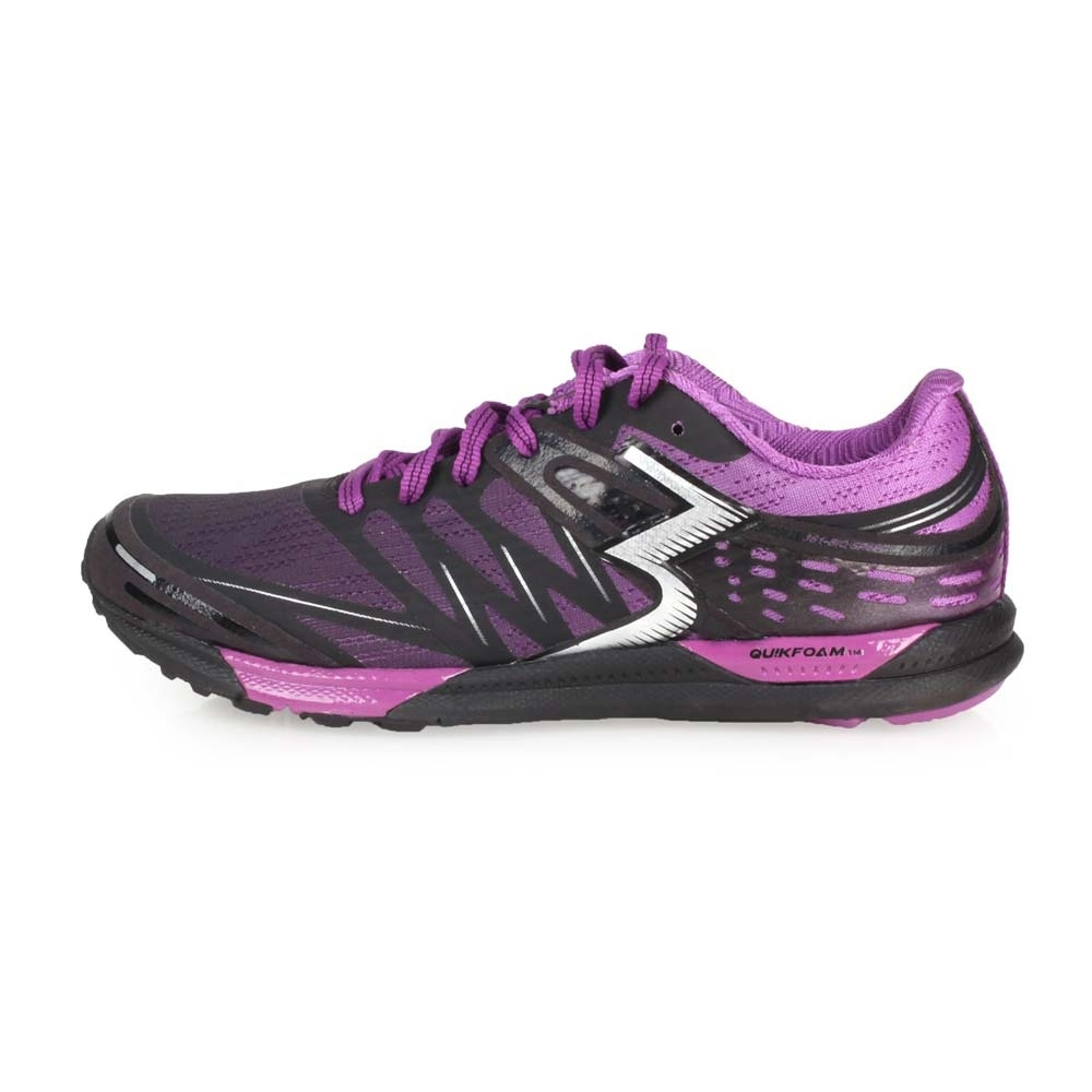 361度 361° 女慢跑鞋-路跑 黑紫
