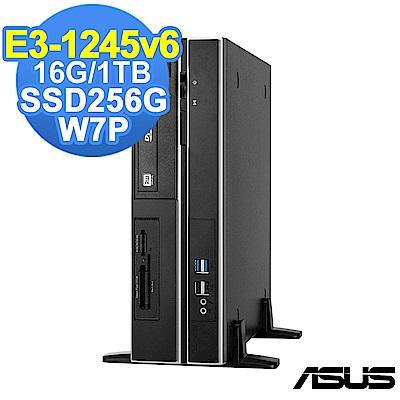ASUS WS660 SFF E3-1245v6/16G/1TB+256G/W7P
