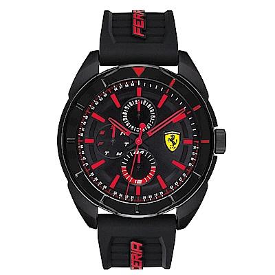 Ferrari 法拉利潮流趨勢橡膠時尚腕錶/0830547