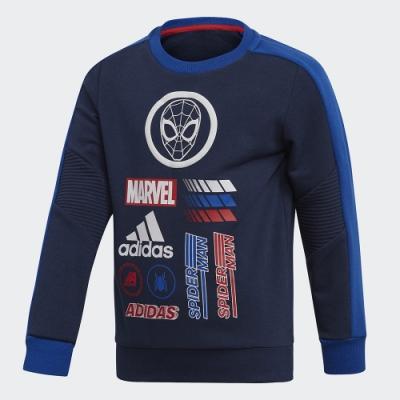 adidas MARVEL SPIDER-MAN 長袖上衣 男童/女童 ED6454