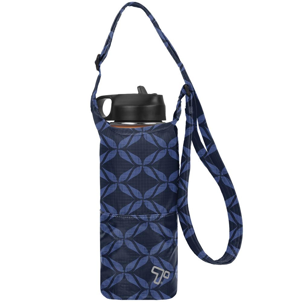 《TRAVELON》收納水壺袋(藍)
