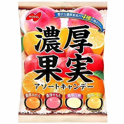 NOBEL 濃厚果實糖(90g)