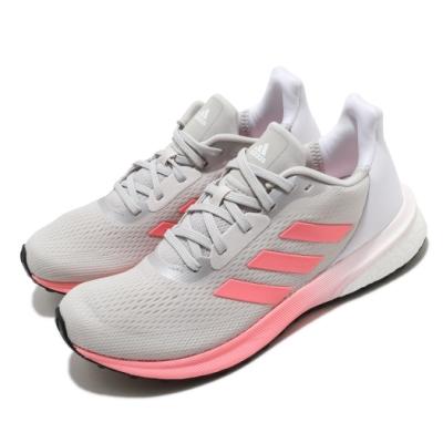 adidas 慢跑鞋 Astrarun 運動休閒 女鞋 愛迪達 三線 透氣 球鞋穿搭 Boost 灰 粉 EH1526