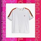 Levis 男女同款 短袖T恤 Pride平權系列 彩虹織帶 布章Logo