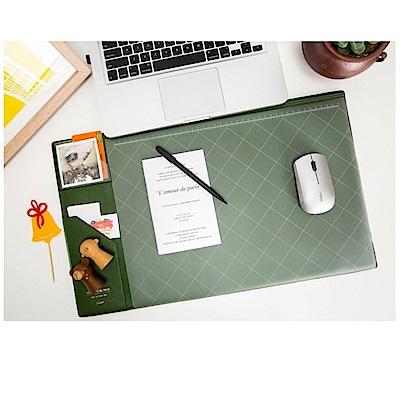 COMET 韓版超大加厚電腦桌墊-綠(EB-E13G)-快