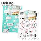 UdiLife 立體流理台廚餘袋-15枚入×12包