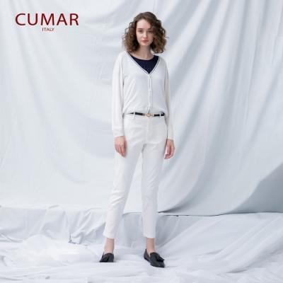 【CUMAR】經典百搭顯瘦-長褲(二色/版型適中)