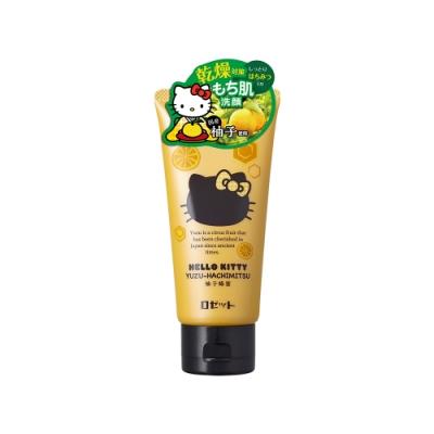 【ROSETTE】HELLO KITTY 柚子蜂蜜保濕洗顏膏 120g