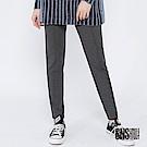 SNS 原宿街頭中縫線腰頭拼接直筒褲(2色)