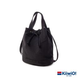 Kiiwi O! A系百搭系列帆布水桶包 UMA 黑色