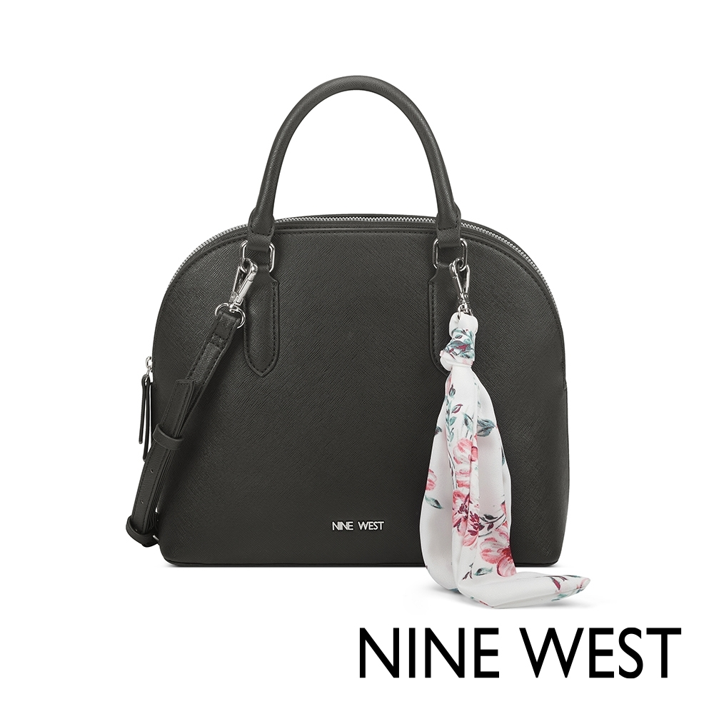 NINE WEST JOIE絲帶吊飾貝殼包-黑色(522405) product image 1