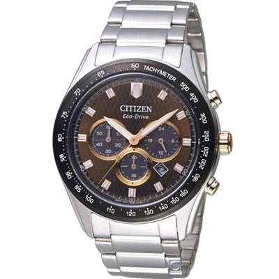 CITIZEN 星辰 光動能計時腕錶(CA4456-83X)43mm