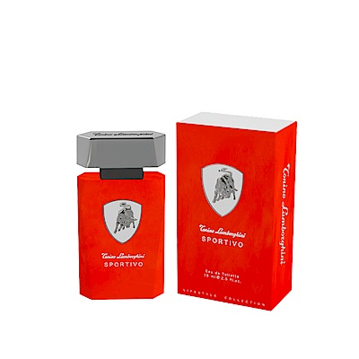 Lamborghini Sportivo紅牛能量男性淡香水75ml