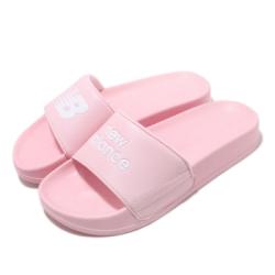 New Balance 涼拖鞋 SD1101HPKM 套腳 女鞋 紐巴倫 輕便 舒適 夏日 簡約 粉 白 SD1101HPKM