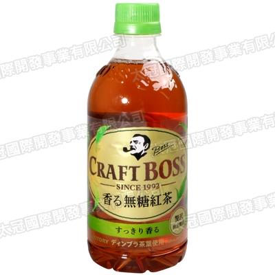 SUNTORY Craft 工匠紅茶飲料 無糖風味(500ml)