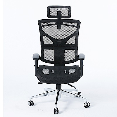 【CHAMPION】人體工學椅-機能型3D彈力網布分節紓壓設計主管電腦椅(無段式傾仰)