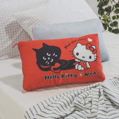 絲薇諾  正版授權  兒童天絲水洗枕1入 -KITTY&NYA