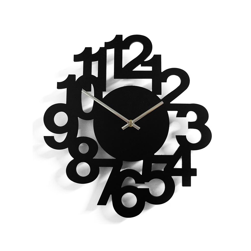 完美主義 數字設計款掛鐘/時鐘/壁鐘/阿拉伯數字(2色)