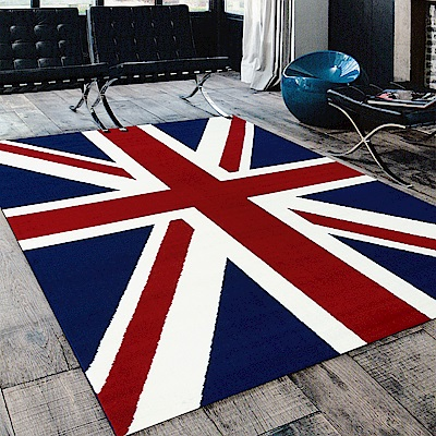 Ambience 比利時Shiraz 時尚地毯-英國旗 160x230cm