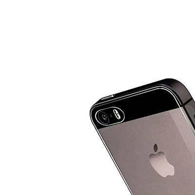 iPhone 5/5s/SE 背膜 鋼化玻璃膜 防撞 防摔 透明 保護貼背膜