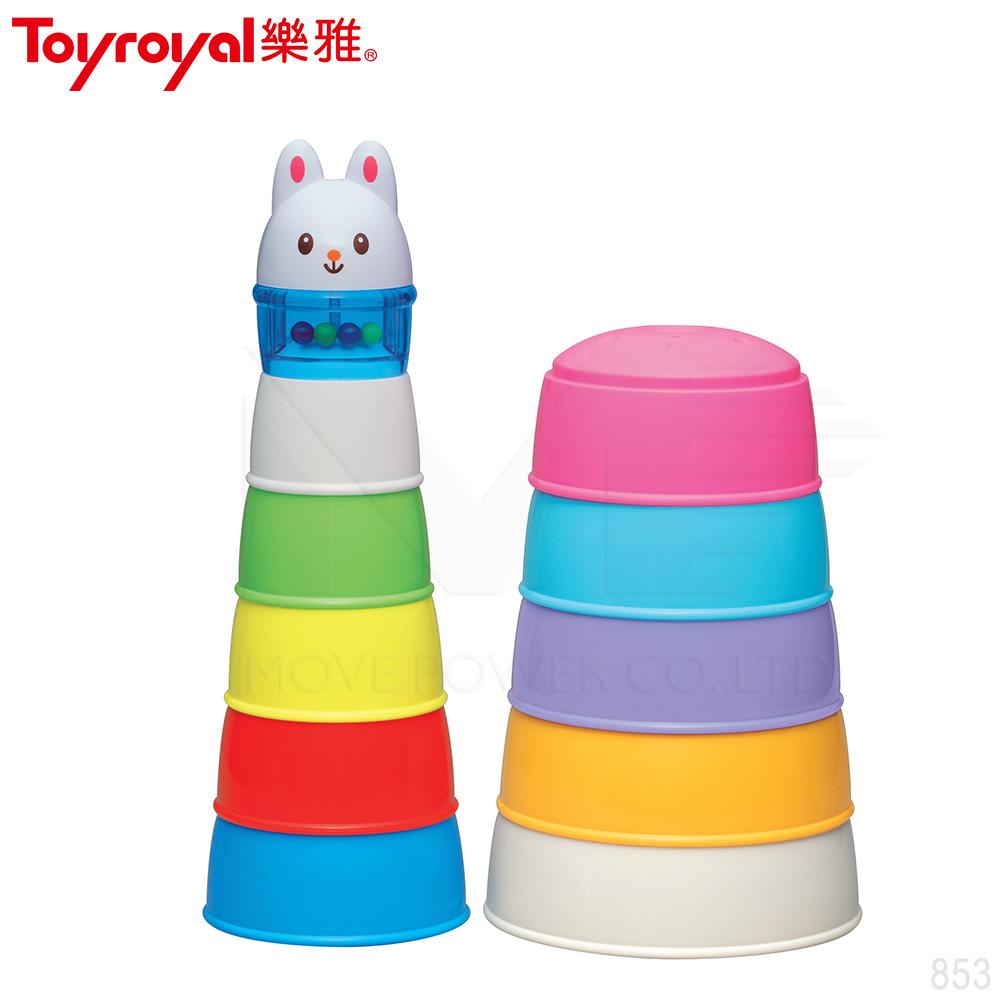 【任選】日本《樂雅 Toyroyal》動物繽紛學習杯(10m以上)