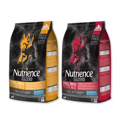 【2入組】Nutrience紐崔斯SUBZERO頂級無穀小型犬+凍乾 2.27kg(5lbs) 送全家禮卷50元*1張 (購買第二件贈送寵鮮食零食1包)