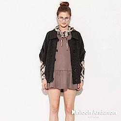 【Kinloch Anderson 金安德森女裝】連袖開襟針織外套