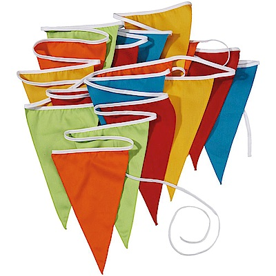 JAKO-O 德國野酷 彩色三角旗幟 (聚會派對/兒童派對慶祝)
