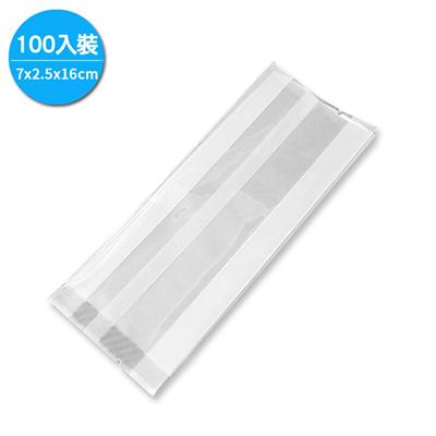 MIT手工皂真空包裝袋/亮面7x2.5x16cm(100入裝)TPR0058