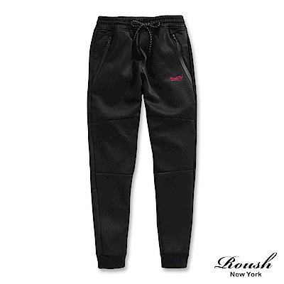 Roush 防水拉鍊設計機能性束口棉褲(2色)