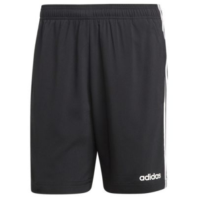 adidas 短褲 運動 休閒 健身 訓練  男款 黑 DQ3073 ESS 3Stripes Chelsea