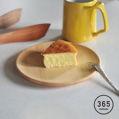 日本365methods 天然楓木淺型餐盤-18cm