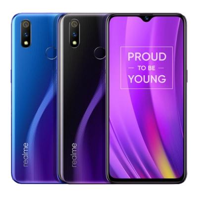 realme 3 Pro (4G/64G) 6.3吋水滴螢幕八核心大電量智慧手機