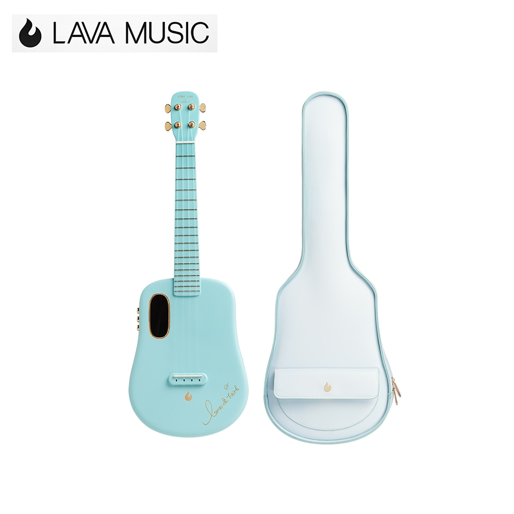 LAVA U Lyric Lan Freeboost 26吋烏克麗麗全球限量款 海岸藍