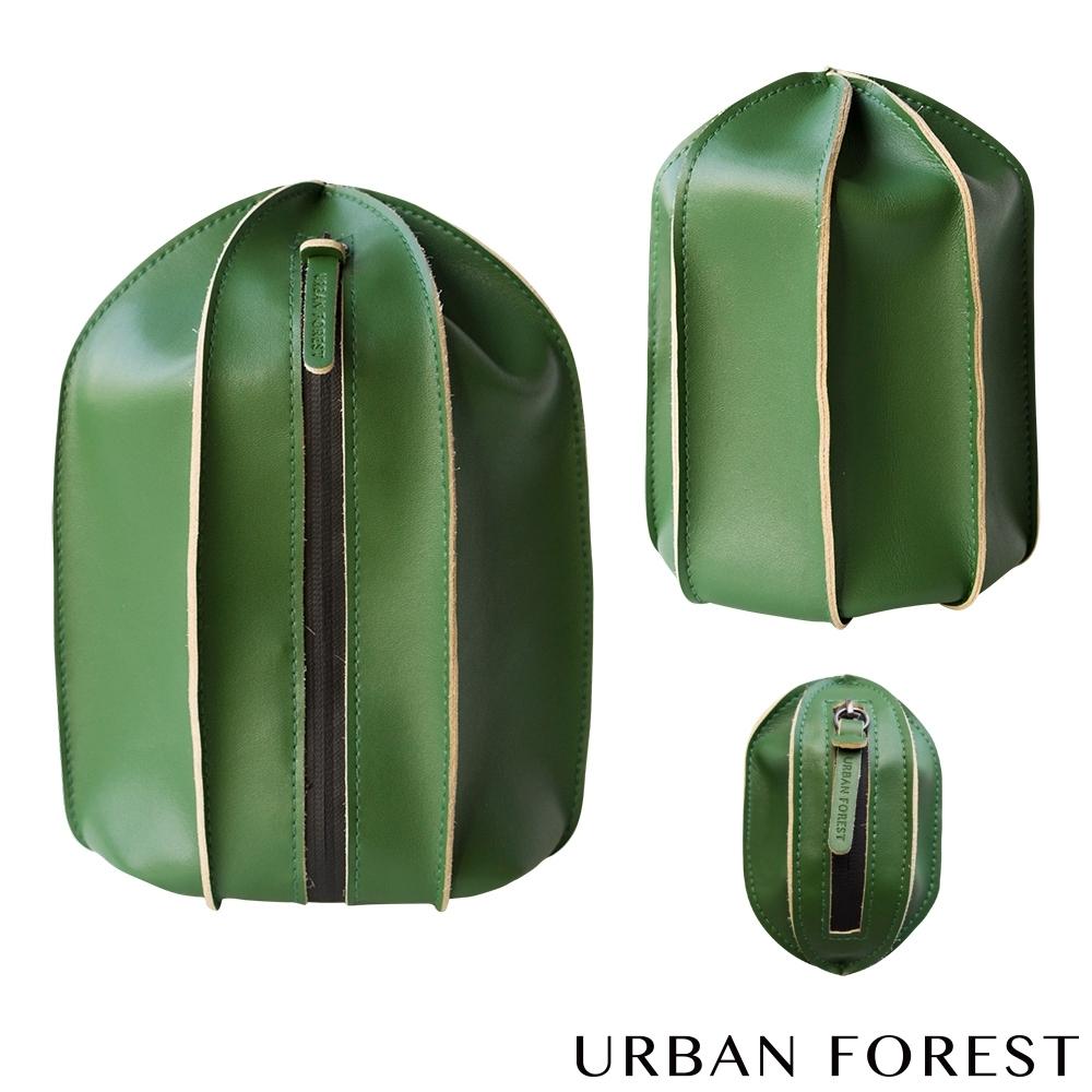 URBAN FOREST都市之森 仙人掌-洗漱包/盥洗包 (3件組)  苔癬綠