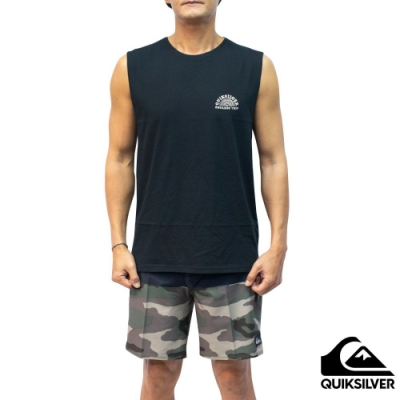 【QUIKSILVER】ABSENT MINDS MUSCLE 背心 黑色